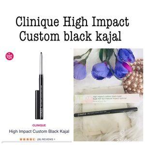 Clinique high impact custom black kajal Eyeliner
